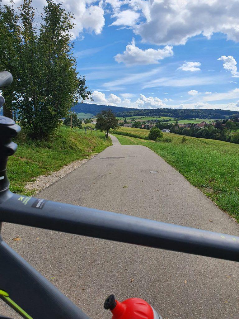 Veloverkehr Bezirk Baden